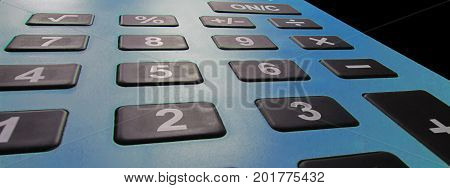 Calculator Close up. Tax calculator concept. calculator concept.