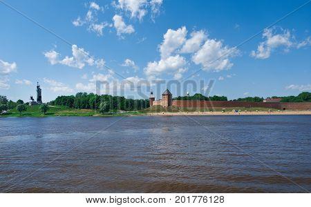 Veliky Novgorod. Novgorod Kremlin . Russia metropolitan