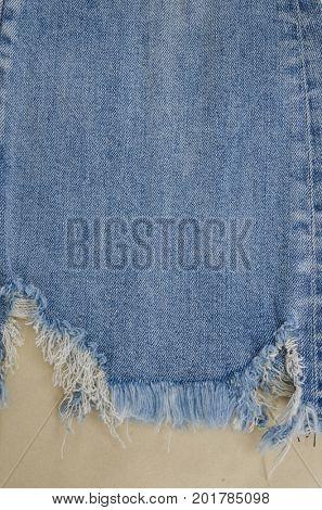 blue leg jeans texture -khaki background