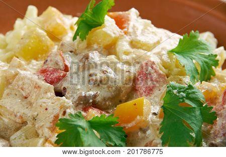 Chicken Carbonara
