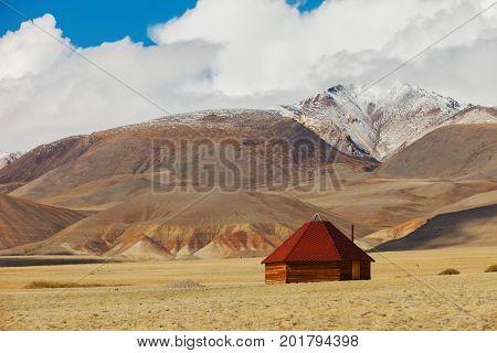 Altai ail in mountains. Russia Siberia