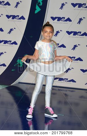LOS ANGELES - AUG 27:  Sophia Laurent Abraham at the MTV Video Music Awards 2017 at The Forum on August 27, 2017 in Inglewood, CA
