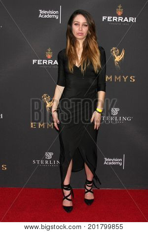 LOS ANGELES - AUG 23:  Celeste Fianna at the Daytime Television Stars Celebrate Emmy Awards Season at the Saban Media Center at the Television Academy on August 23, 2017 in North Hollywood, CA