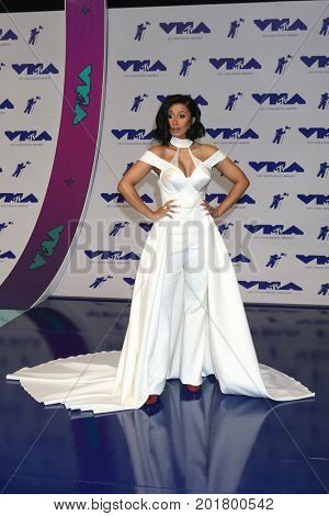 LOS ANGELES - AUG 27:  Cardi B at the MTV Video Music Awards 2017 at The Forum on August 27, 2017 in Inglewood, CA