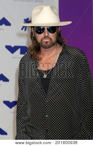 LOS ANGELES - AUG 27:  Billy Ray Cyrus at the MTV Video Music Awards 2017 at The Forum on August 27, 2017 in Inglewood, CA