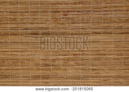 Pattern of bamboo blinds texture for background