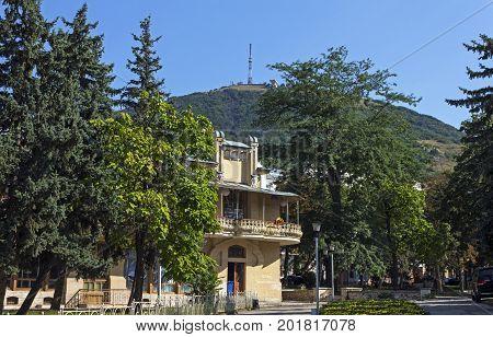 Entrance to the famous Flower - garden in Pyatigorsk