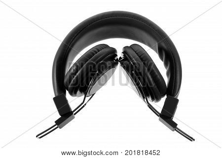 Head Phone on an Isolated White Background