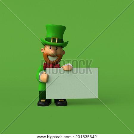Leprechaun - 3D Illustration