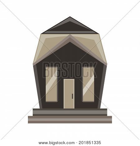 Home icon house vector isolated real estate residential symbol black building sign simple