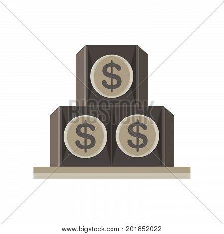 eye pyramid dollar seeing all illuminati vector symbol isolated icon