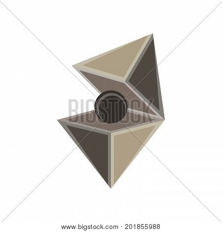 Jewel cut vector diamond set isolated gem icon design illustration element