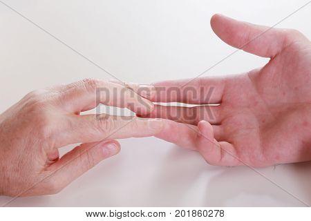 Hands Of The Masseur