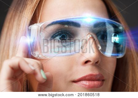 Business, Technology, Internet And Network Concept. Technology F