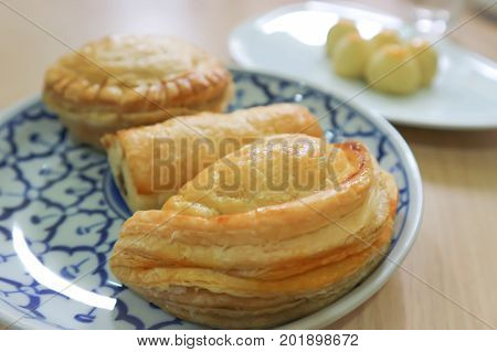 chicken pie apple pie and pineapple pie
