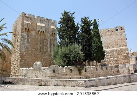 Walk around the ancient city of Jerusalem, the capital of Israel