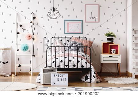 Kids Room With Colorful Toys