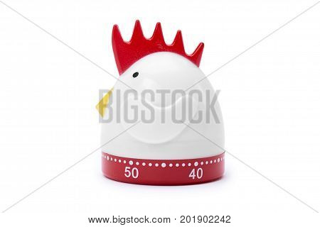 Kitchen Timer Isolated On White Background