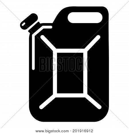 Canister icon. Simple illustration of canister vector icon for web