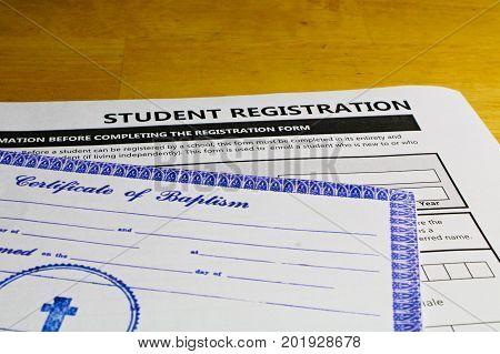 Copy Of Baptismal Certificate Mandatory To Attend Catholic Schools