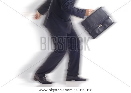 Businessman On The Run