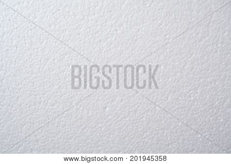 White foam. Abstract background in the form of a light foam.