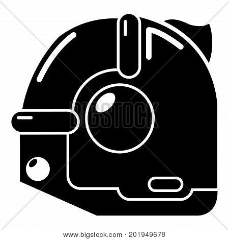 Construction roulette icon. Simple illustration of construction roulette vector icon for web