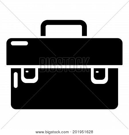 Tool box icon. Simple illustration of tool box vector icon for web