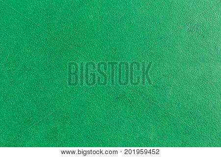 Green chalkboard texture background. Blank copy space grunge rugged surface for advertisement text message advertising.