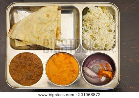 Indian Food Vegetarian Dish
