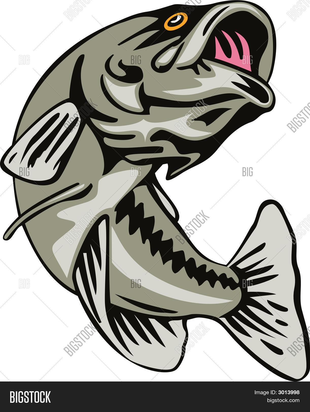 Bass Fishing Images, Illustrations, Vectors - Bass Fishing Stock ...