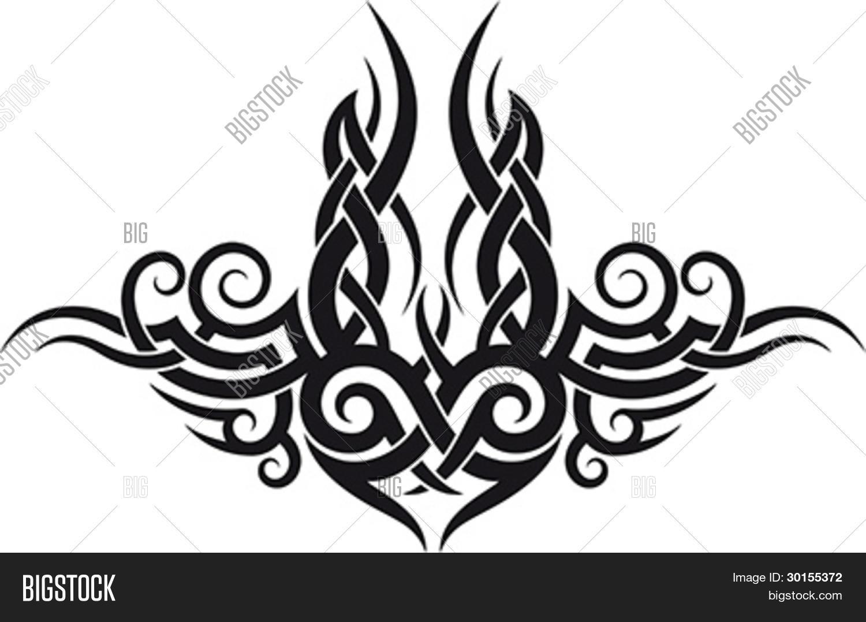 Vector Y Foto Patrón De Tatuajes Prueba Gratis Bigstock