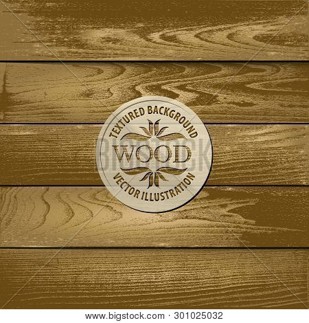 Brown Wood Background Containing: Five Textured Footboards For Horizontal And Vertical Wood Siding,