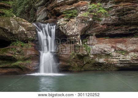 Waterfall In The Gorge