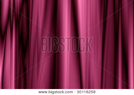 Abstract Curtain Fabric Folds