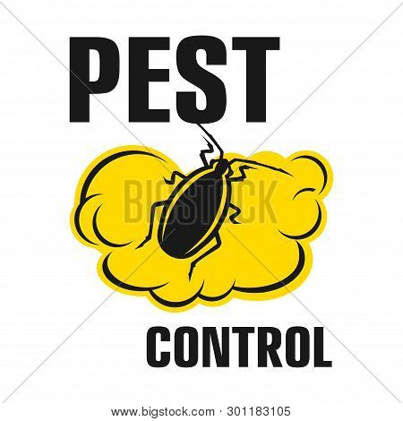 Vector Logo For Pest And Insect Control Company