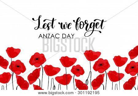 Anzac Day. Australia New Zealand Army Corps
