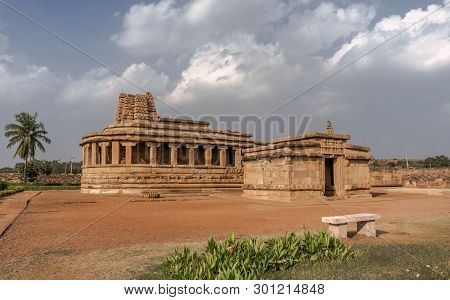 India, Durga Temple In Aihole In The State Of Karnataka