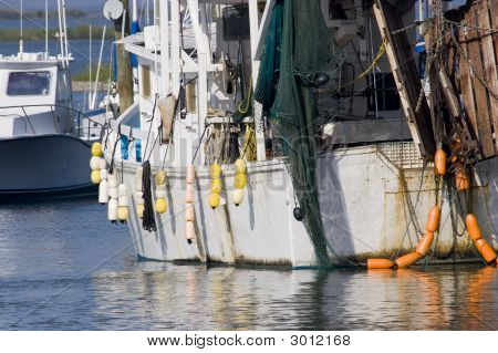 Stock Photo Of Shrimp Boats