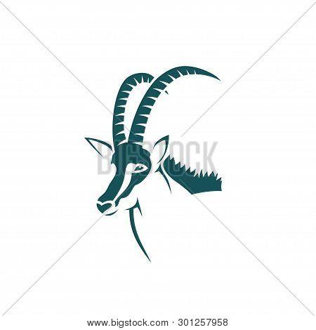 Sable Antelope - Vector Illustration - Vector