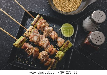 Japanese Chicken Grill  Yakitori Set.
