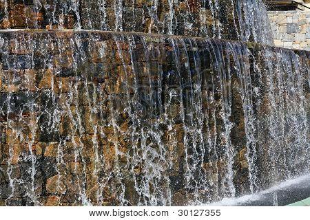 Waterfall in a Fountain