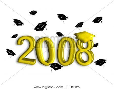 Graduation Class Of 2008 - Gold