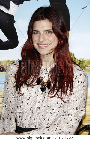 LOS ANGELES, CA - FEB 16: Lake Bell at the premiere of Universal Pictures' 'Wanderlust' held at Mann Village Theatre on February 16, 2012 in Los Angeles, California