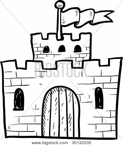 Secure castle sketch