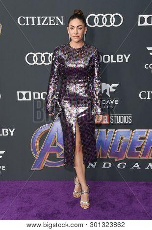 LOS ANGELES - APR 22:  Natalia Cordova-Buckley arrives for the