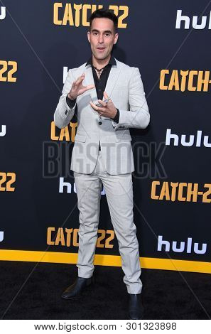 LOS ANGELES - MAY 07:  Daniel Fernandez arrives for the Hulu's 'Catch-22' US. Premiere on May 07, 2019 in Hollywood, CA