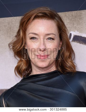 LOS ANGELES - MAY 14:  Molly Parker arrives for the HBO's 'Deadwood' Premiere on May 14, 2019 in Hollywood, CA