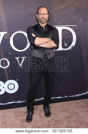 LOS ANGELES - MAY 14:  Jeffrey Nordling arrives for the HBO's 'Deadwood' Premiere on May 14, 2019 in Hollywood, CA