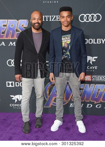 LOS ANGELES - APR 22:  Jeffrey Wright arrives for the